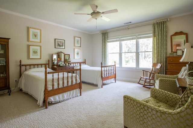Traditional Bedroom Carpet : Chastain park perfect traditional bedroom atlanta
