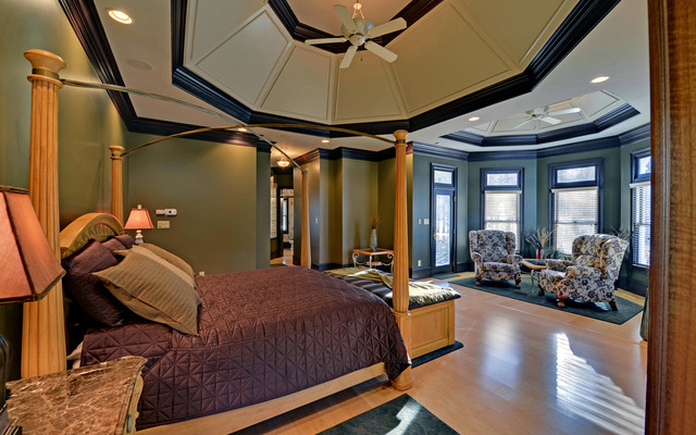 Chateau Elan Legends Custom Homes Traditional Bedroom
