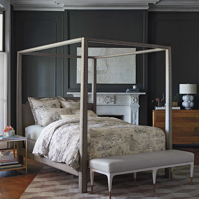 Chateau Inspired Bedroom Traditional Bedroom London By Anthropologie Europe