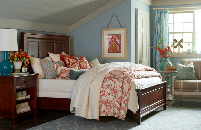 Chatham Panel Bed by Bassett Furniture Traditional