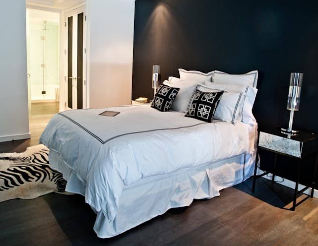 Chelsea Bachelor Pad contemporary-bedroom
