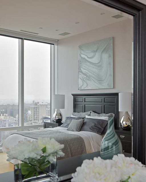Chelsea Duplex Penthouse contemporary-bedroom