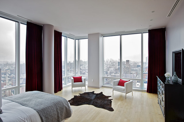 Chelsea Duplex Penthouse Contemporary Bedroom New