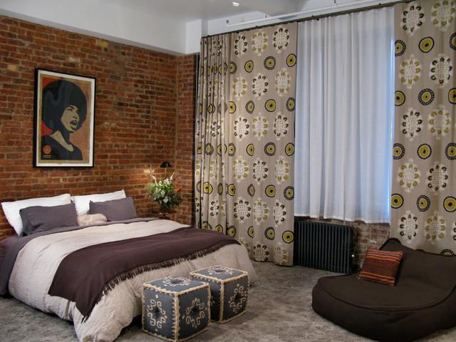 Chelsea Loft eclectic-bedroom