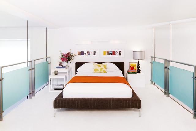 Chelsea Loft modern-bedroom