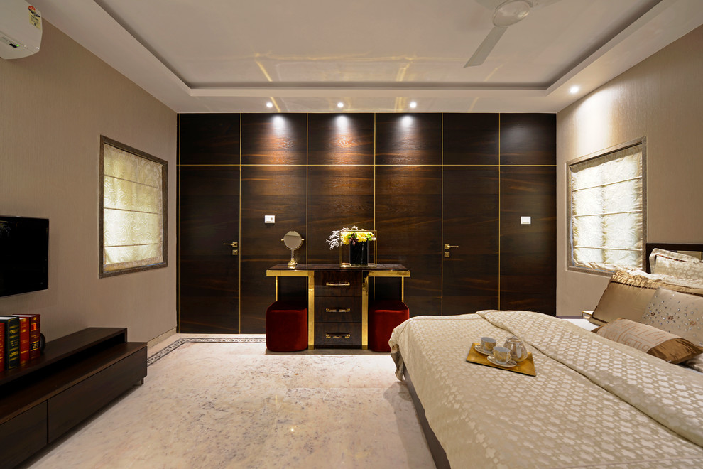 Chennai Residence By Ampm Designs Contemporary Bedroom Chennai By Prashant Bhat Photography
