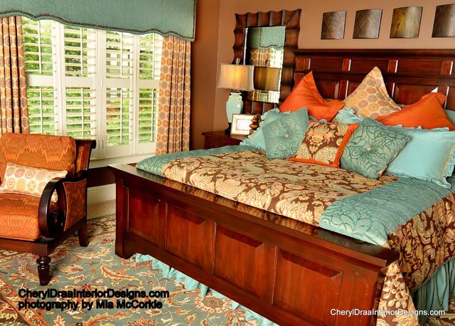 cheryl draa interior design traditional bedroom los