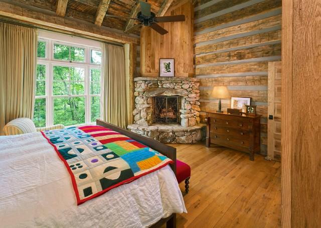 Chestnut Hall rustic-bedroom