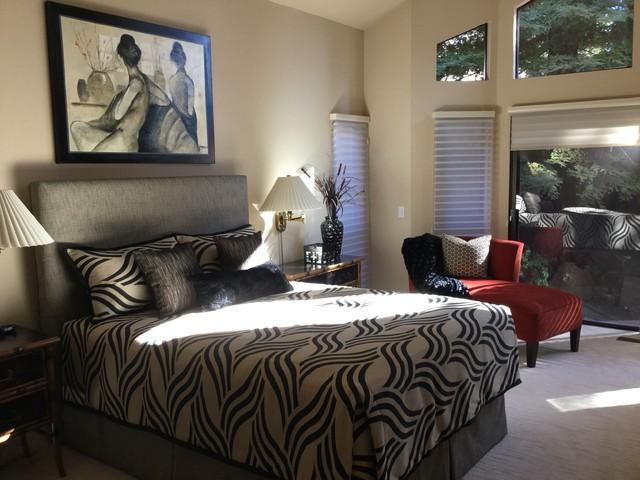 chic blackhawk master bedroom transitional bedroom