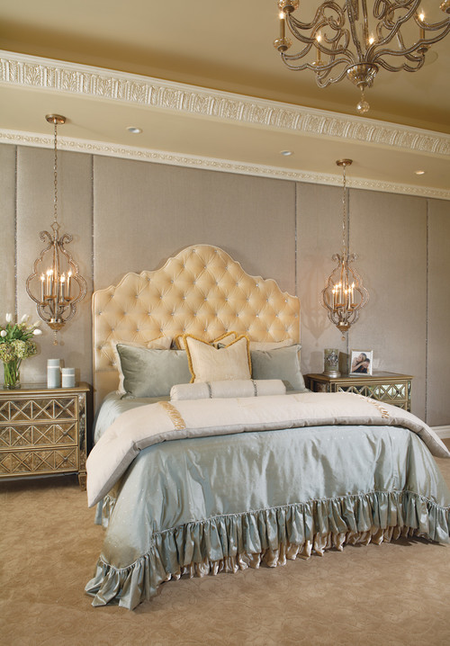 Bedroom chandeliers and mini chandeliers at the bedside lights online blog - Sparkling small crystal chandelier designs for any interior room ...
