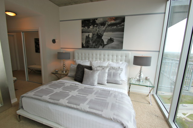 chic modern bedroom modern bedroom other metro by