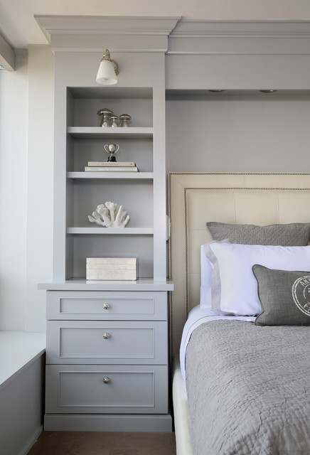 Chicago Condo Remodel - Transitional - Bedroom - chicago - by Normandy Remodeling