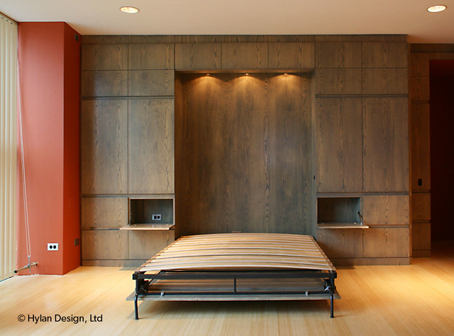 Chicago Murphy Bed Wall Modern Bedroom Chicago By