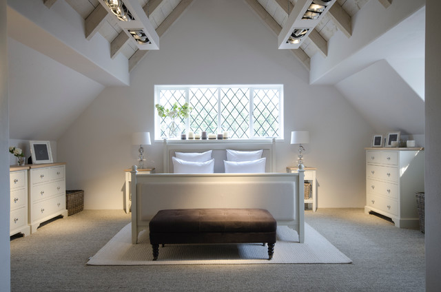 Chichester Bedroom Transitional Bedroom London By