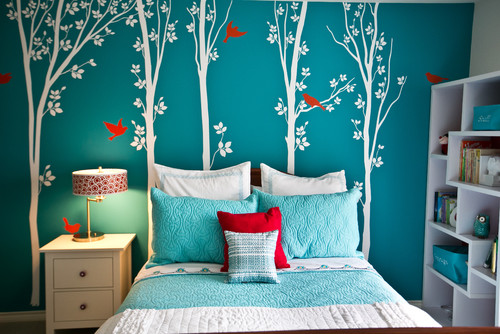 Turquoise Wall Color Is Awesome Can You Tell Us The Name And Maker