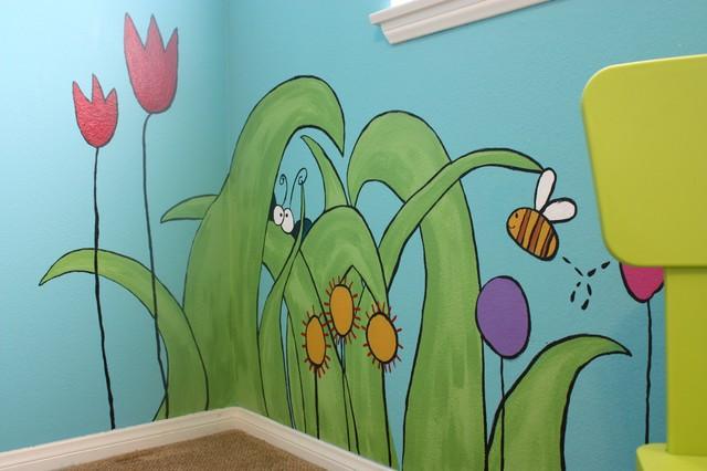 Children's Rooms & Nurseries eclectic-bedroom