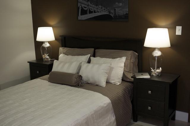 Chocolate amp Cream Design Contemporary Bedroom New