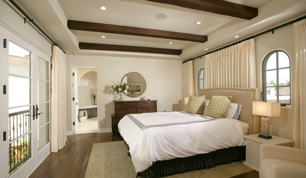 christian rice architects, inc. mediterranean-bedroom
