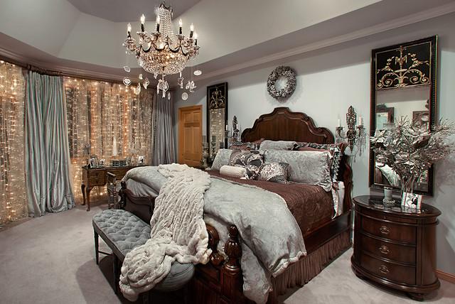 christmas decor mediterranean bedroom chicago by
