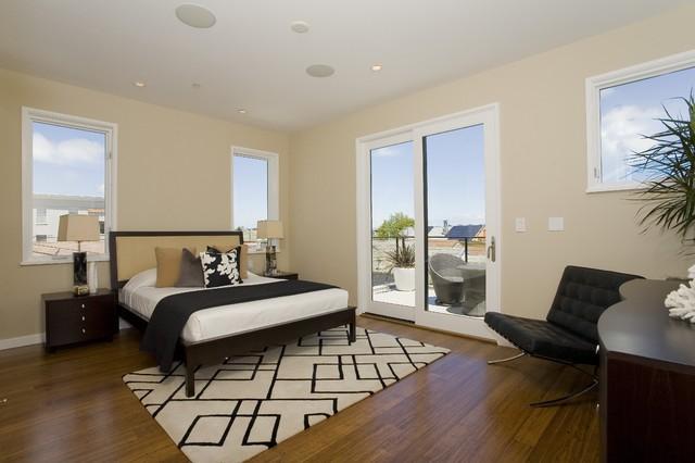 Church Street Residences contemporary-bedroom