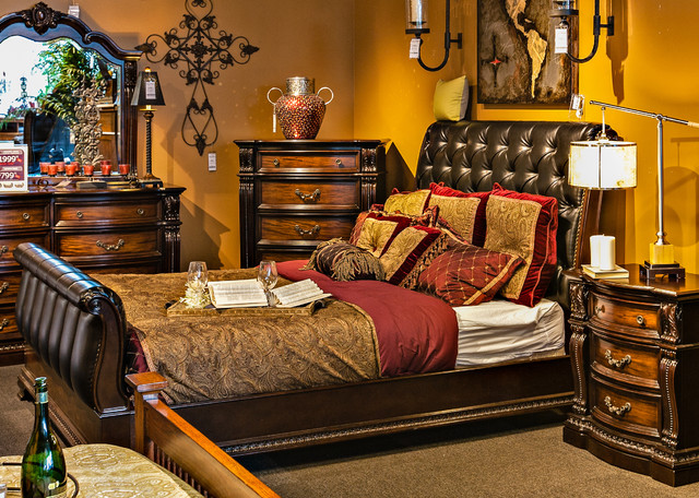 churchill bedroom suite traditional bedroom los 13572 | traditional bedroom