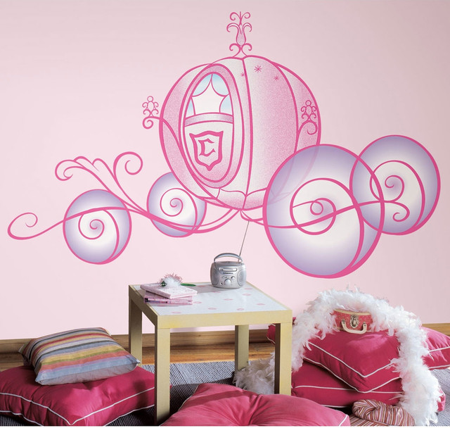 Cinderella Bedding And Room Decorations Contemporary