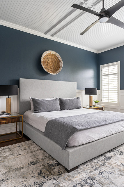 Circle C Cozy Modern- Master Bedroom - Contemporary ...