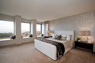 city beach   scandinavian   bedroom   perth   by hc interiors