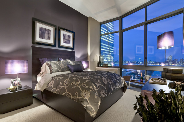 City Drama Monaco Model In Jersey City Nj Contemporary Bedroom