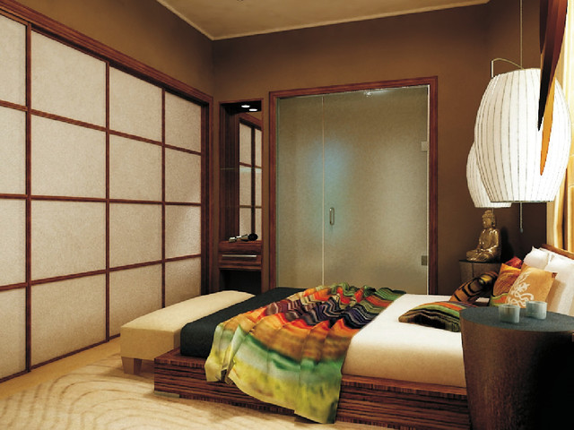 Japanese Zen Bedroom: City Zen Space