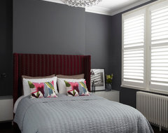 Clapham Family Home contemporary-bedroom
