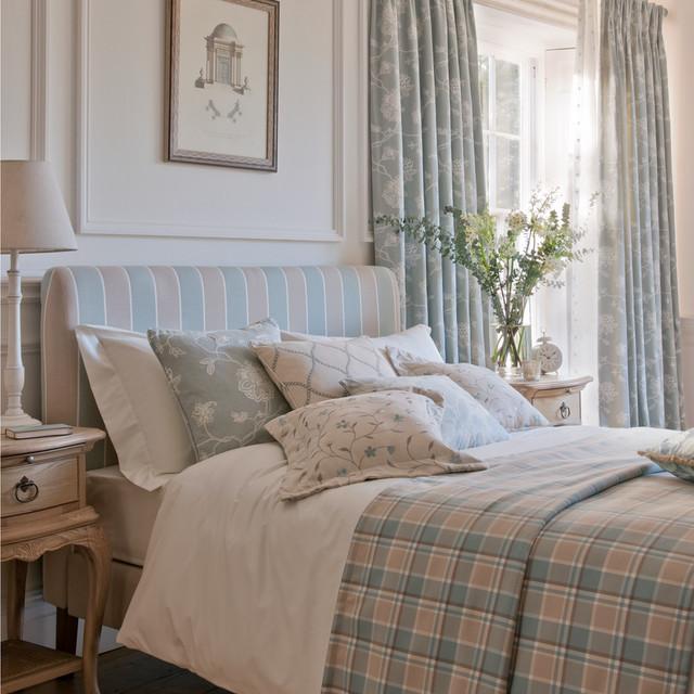 Clarke Clarke Ribble Valley Traditional Bedroom