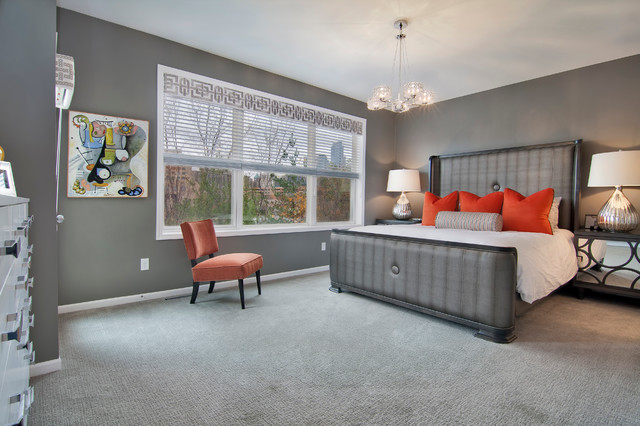 Clasen Master Suite Transitional Bedroom Minneapolis By Rebecca Ryan Design