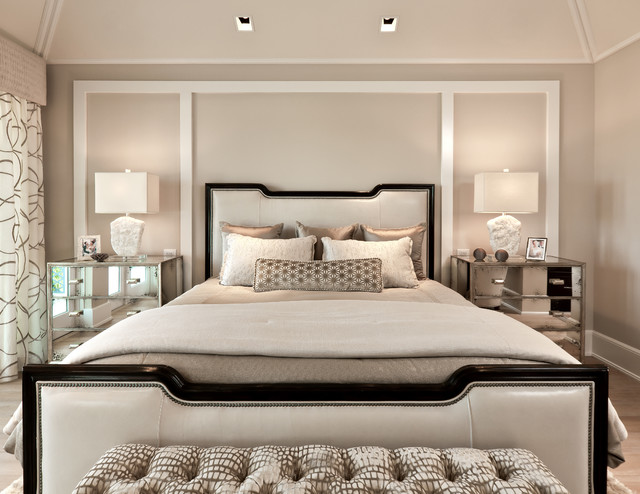 Classic contemporary transitional bedroom miami by Transitional contemporary