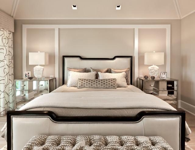 classic contemporary classique chic chambre miami par ficarra design associates inc. Black Bedroom Furniture Sets. Home Design Ideas