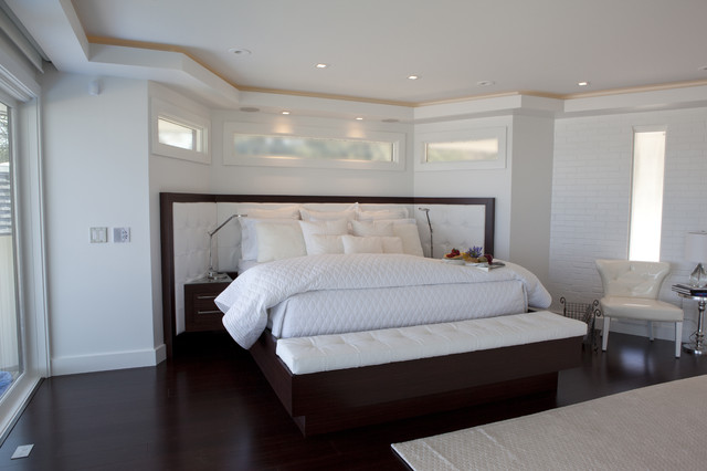 Classic Contemporary Residence contemporary bedroom