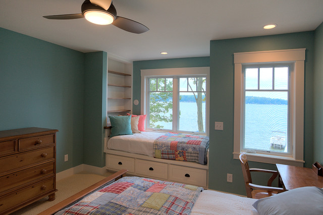 Classic Cottage Beach Style Bedroom Other By Mac