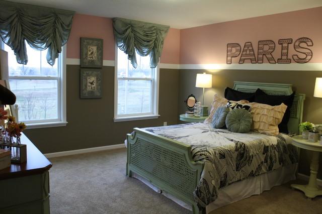 Classic Girl's Room eclectic-bedroom