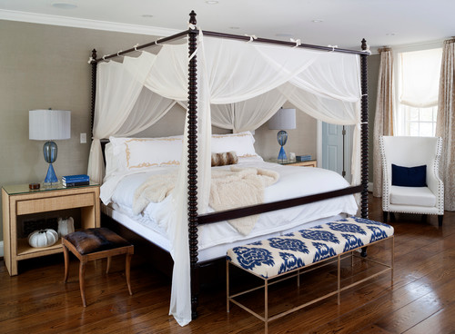 Framed Canopy BedDesignfor a Young Adult