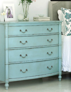 Classic Lowboy Dresser - Redford House - Traditional - Bedroom - new york - by Coach Barn