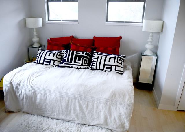 modern bedroom by Kara Mosher