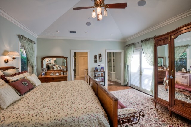 Clayton Residence traditional-bedroom