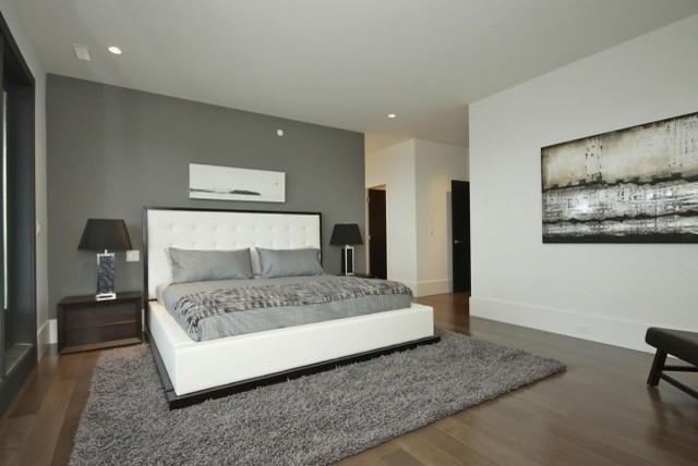 Cliff House contemporary-bedroom