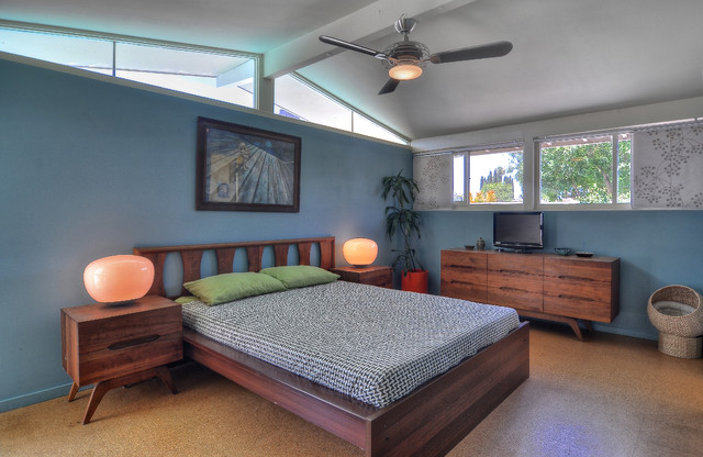 cliff may ranch home in tustin california midcentury bedroom ceiling lights middot mid century
