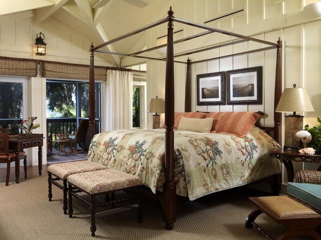 Cliff Scholz tropical-bedroom