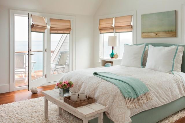 Cliffside Perch beach-style-bedroom