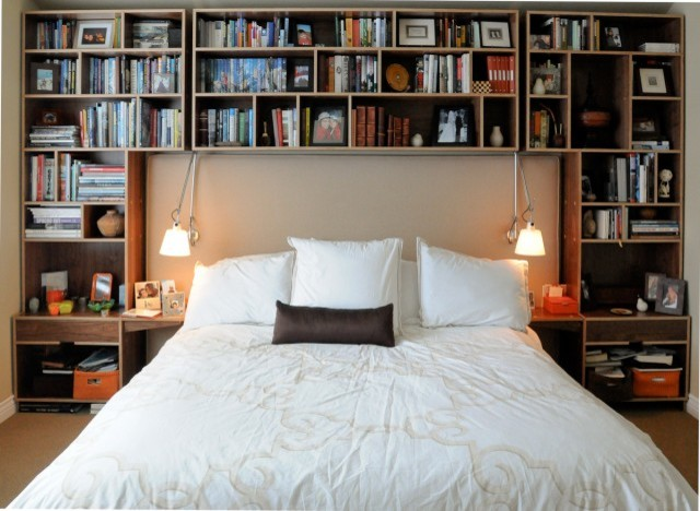 Climaco bedroom storage - Contemporary - Bedroom - seattle - by Kerf Design