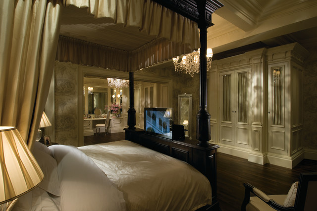 Clive Christian Architectural Master Bedroom Traditional
