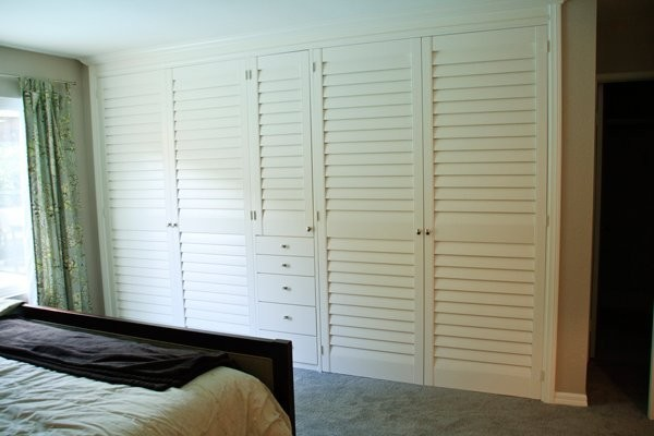 Closet Doors Traditional Bedroom San Diego By French Brothers Custom Shutters