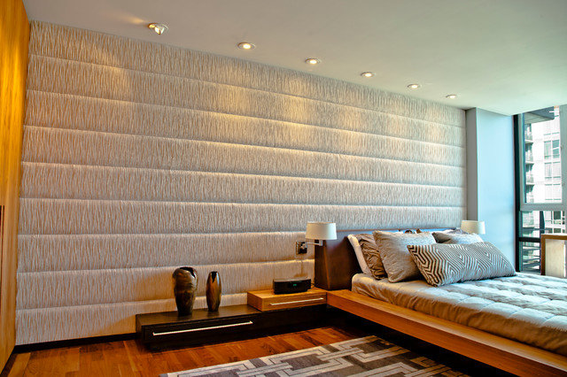 Coal Harbour Upholstered Wall contemporary-bedroom
